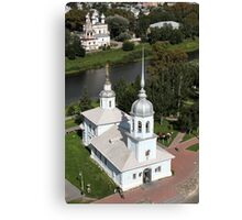 temples aerial view Canvas Print