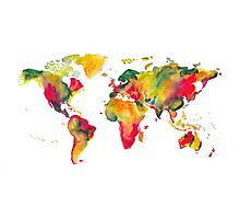 World Map 2026  Photographic Print