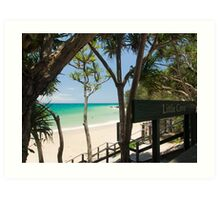 Little Cove, Noosa : Ocean Bliss Art Print