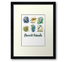 Me and My Aussie Friends - Boy Framed Print