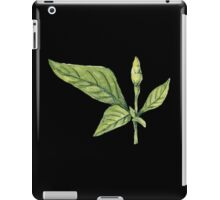 Chilly plant- green fruits iPad Case/Skin