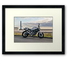 Ducati Monster 696 Framed Print