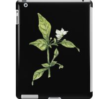 Chilly plant- flowers iPad Case/Skin