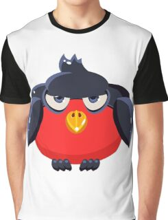 colorful bird Graphic T-Shirt