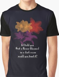 Bloomed Flower Graphic T-Shirt