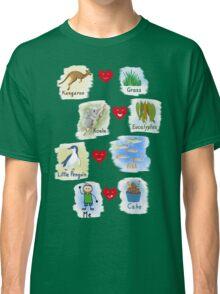 Aussie Friends love food - Boy Classic T-Shirt