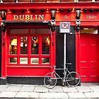 Red Dublin Pub by Rae Tucker