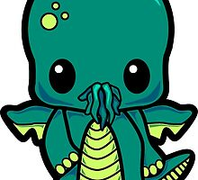 Baby Cthulhu! by adrenalize