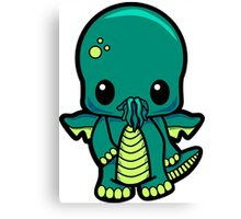 Baby Cthulhu! Canvas Print