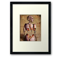 Beautiful on the Inside Framed Print