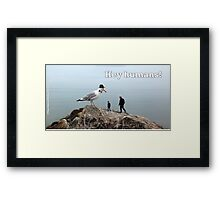 Alfreddy Hancock The Seagull Framed Print