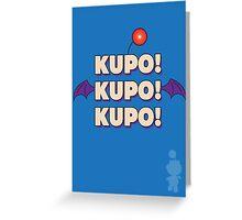 Moogle (Final Fantasy) - Kupo! Greeting Card