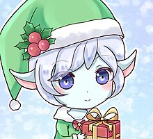 Xmas Tristana League of Legends by LexyLady