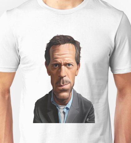 Celebrity Sunday - Hugh Laurie Unisex T-Shirt