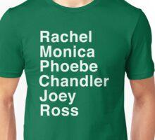Friends - Names Unisex T-Shirt