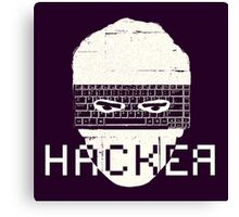 Another Hacker Mask Canvas Print