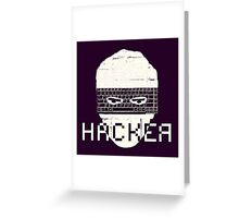 Another Hacker Mask Greeting Card