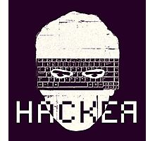 Another Hacker Mask Photographic Print