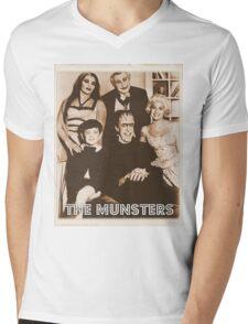 The Munsters Mens V-Neck T-Shirt