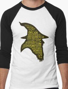 Gandalf Silhouette Men's Baseball ¾ T-Shirt