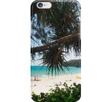 Surf Patrol at Noosa Main Beach iPhone Case/Skin
