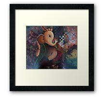 Abstract Ganesh Framed Print