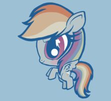 Weeny My Little Pony- Rainbow Dash One Piece - Short Sleeve