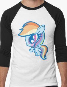 Weeny My Little Pony- Rainbow Dash Men's Baseball ¾ T-Shirt