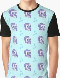 Weeny My Little Pony- Rarity Graphic T-Shirt