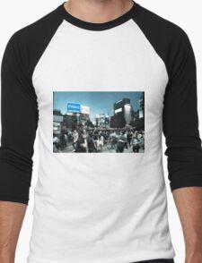 Shibuya Intersection Men's Baseball ¾ T-Shirt