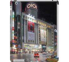 Bright Night Shibuya Intersection iPad Case/Skin