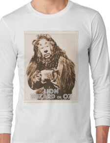 Wizard of Oz Lion Long Sleeve T-Shirt