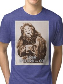 Wizard of Oz Lion Tri-blend T-Shirt