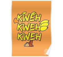 Chocobo (Final Fantasy) - Kweh! Poster