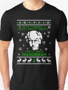 LARRY DAVID PRETTY GOOD HANUKKAH UGLY SWEATER Unisex T-Shirt