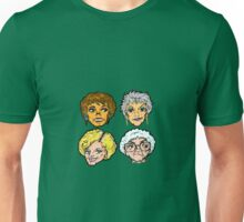 The Golden Girls! Sisters Before Misters Print Unisex T-Shirt
