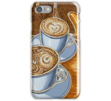 Still life with bicycle iPhone Case/Skin