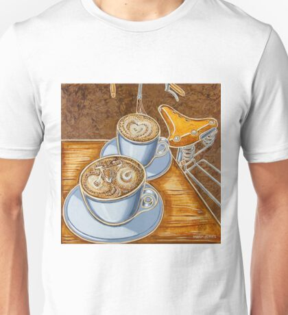 Still life with bicycle Unisex T-Shirt