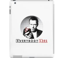 Dr House - Everybody Lies iPad Case/Skin