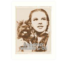 Wizard of Oz Dorothy Art Print