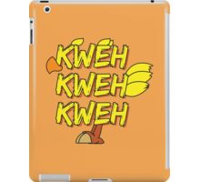 Chocobo (Final Fantasy) - Kweh! iPad Case/Skin