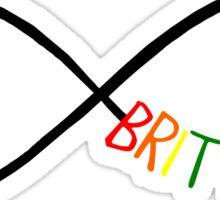 I will love Brittana until infinity. Sticker