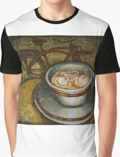 Still life with red cruiser bike Graphic T-Shirt
