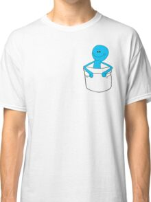 Mr Meeseeks Pocket Tee - Rick and Morty Classic T-Shirt