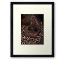 The Deception Of Rollo Framed Print