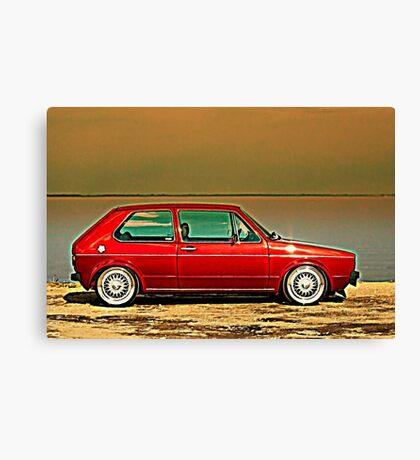 MK1 Golf Canvas Print