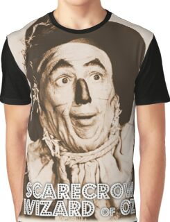 Wizard of Oz Scarecrow Graphic T-Shirt
