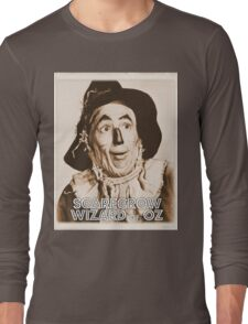 Wizard of Oz Scarecrow Long Sleeve T-Shirt