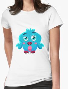 Colorful Bird  #4 Womens Fitted T-Shirt