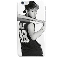 Baekhyun Black And White Baseball Bat iPhone Case/Skin